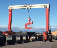SB Crane for Maximizing Steel Yard