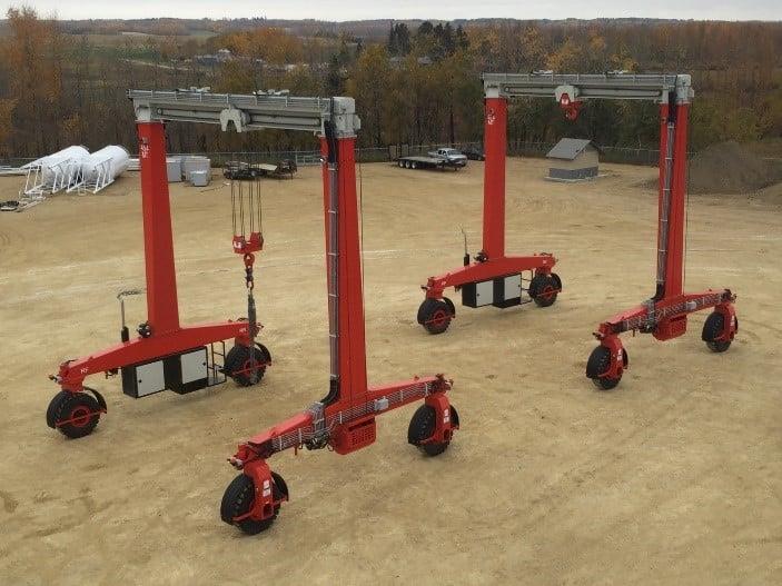 SB Mobile Gantry Cranes for Construction