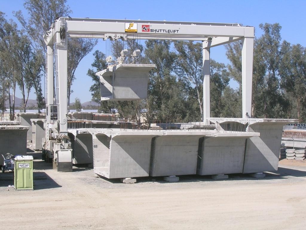 Custom Crane for Maximizing Yard