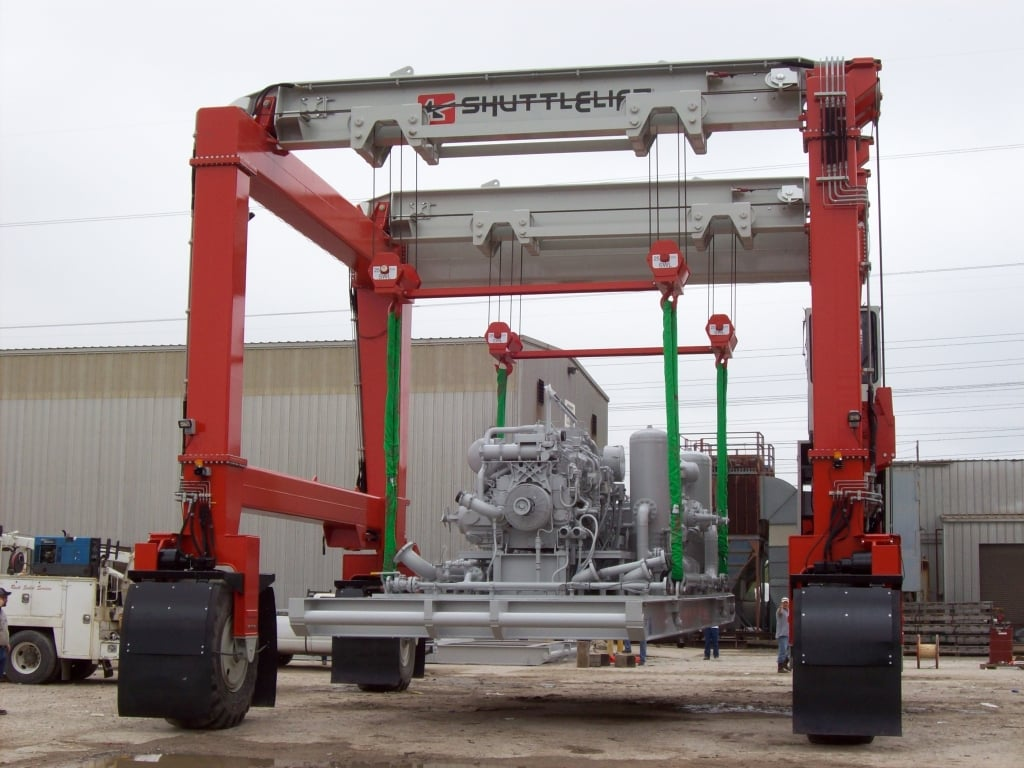 Custom Large Industrial Crane with Options