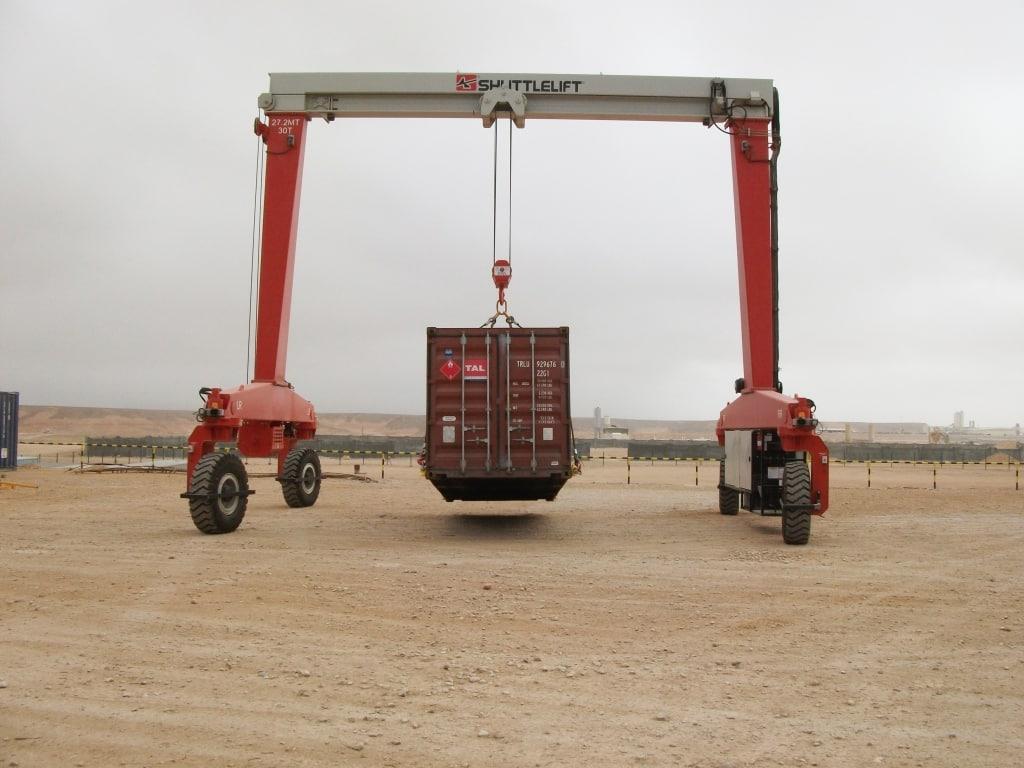 Single Pick-Up Material Handling Custom Crane