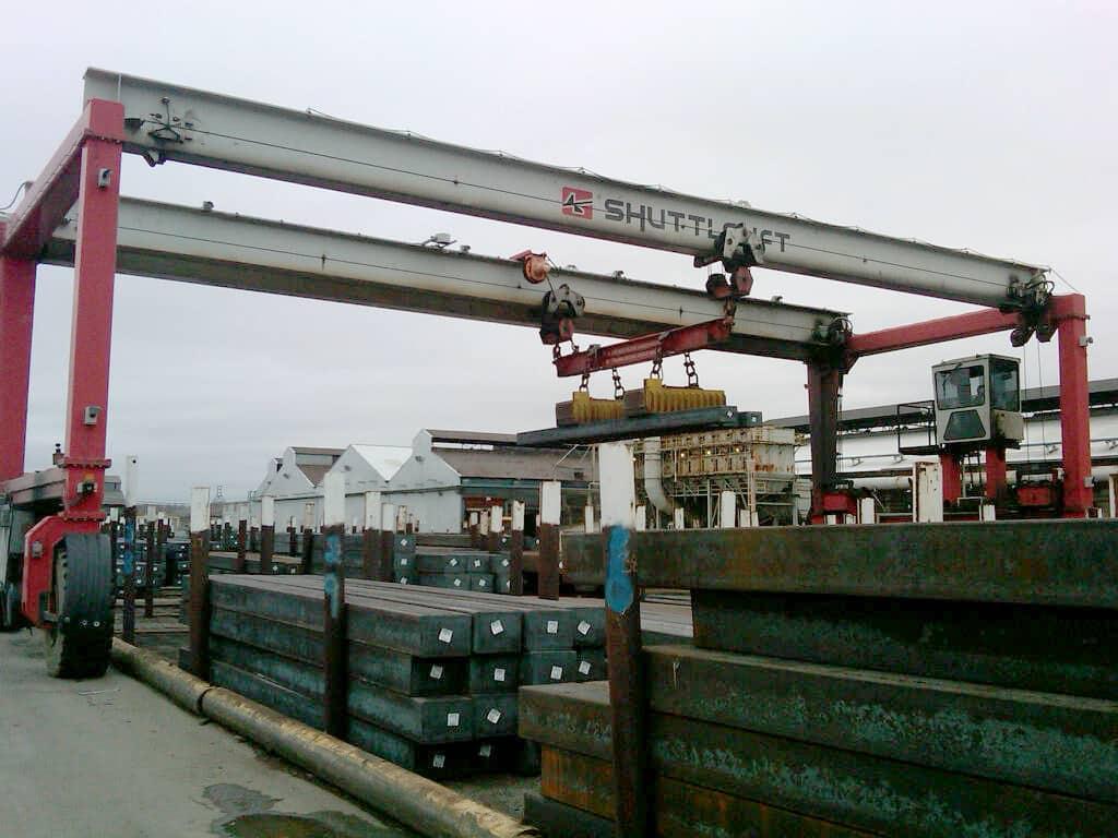 Best Double Beam Mobile Gantry Crane for Steel Industry