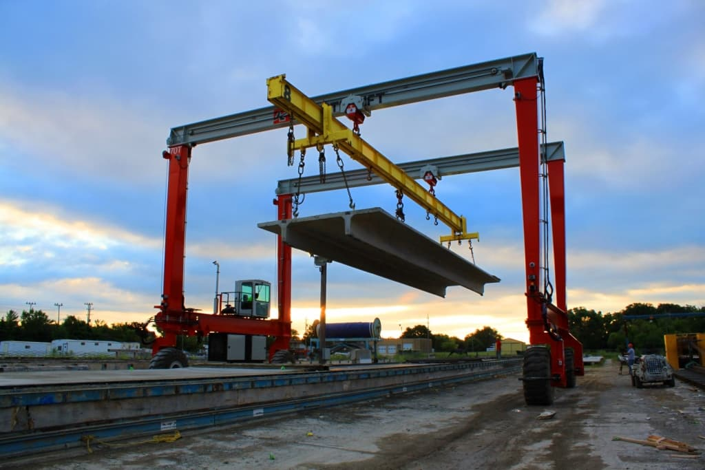 70 Ton Shuttlelift Crane
