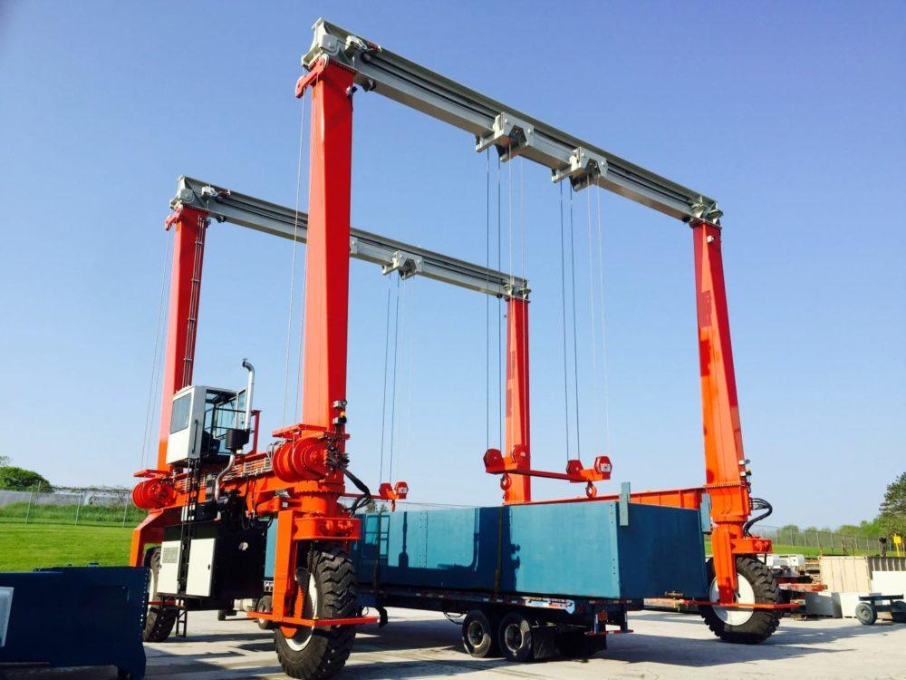 Crane for Industrial Equipment Handling