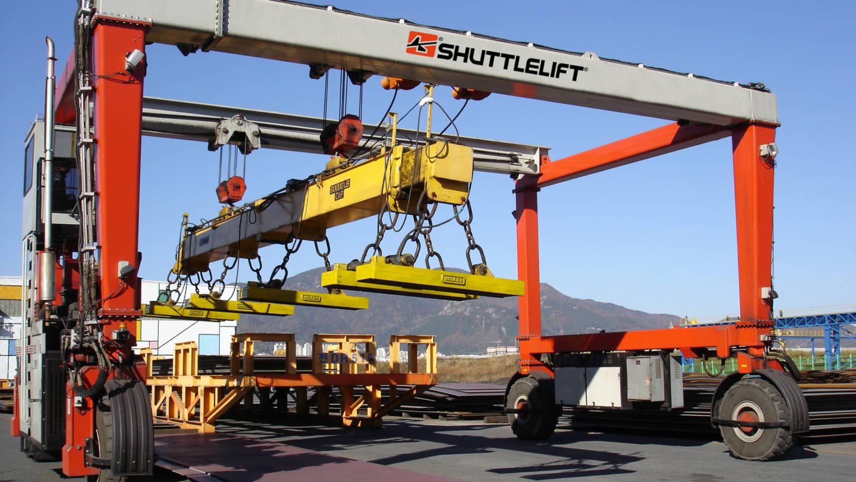 Rubber Tire Gantry Cranes Isl Series Shuttlelift Crane Shut Off Wiring Diagram The That Lift Your Productivity