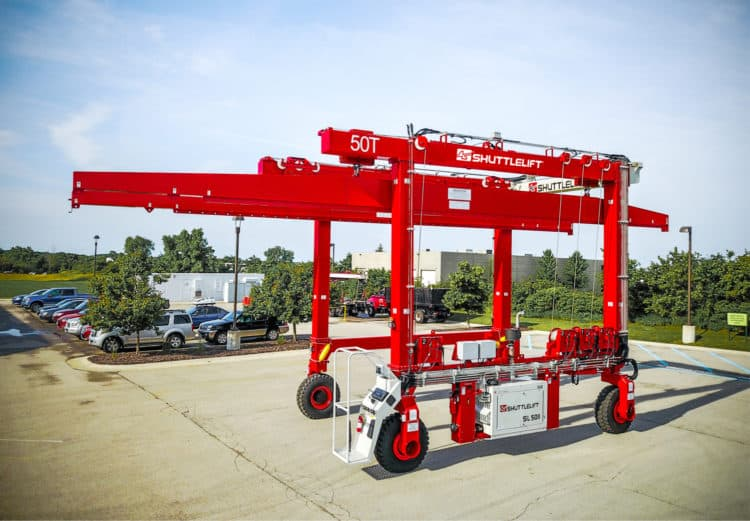 Mobile Gantry Crane for Industrial Applications