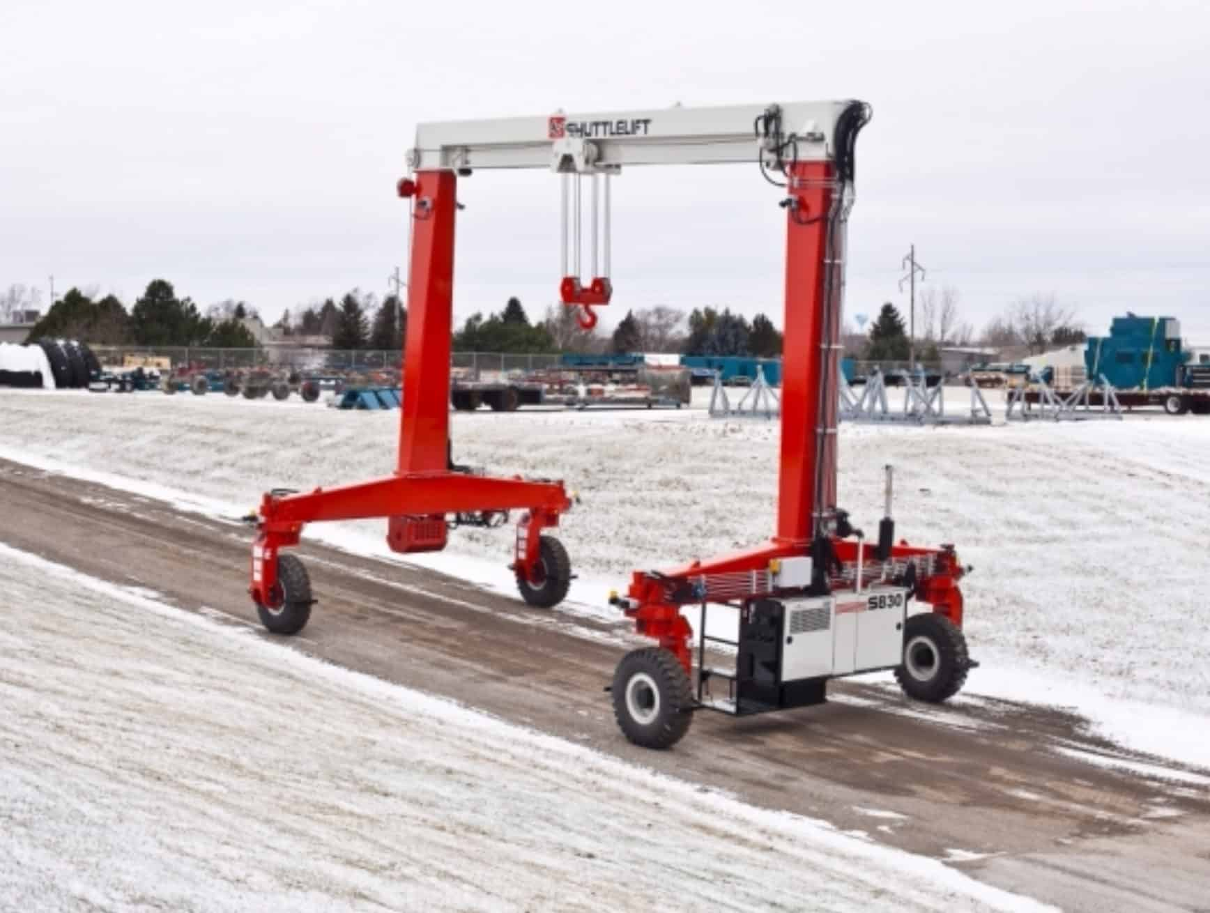 Best Winter Shuttlelift Crane in Industrial Park