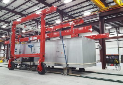 Custom Mobile Gantry Crane for Indoor Use