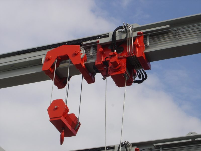 Crane Sheaves on Steel Beam