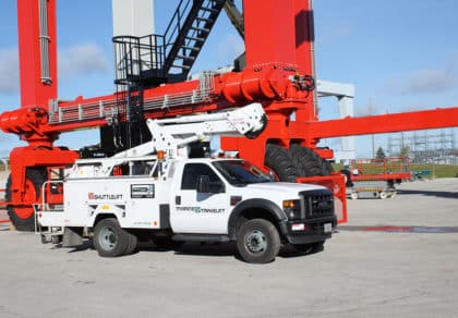 Reliable Crane Service on Site