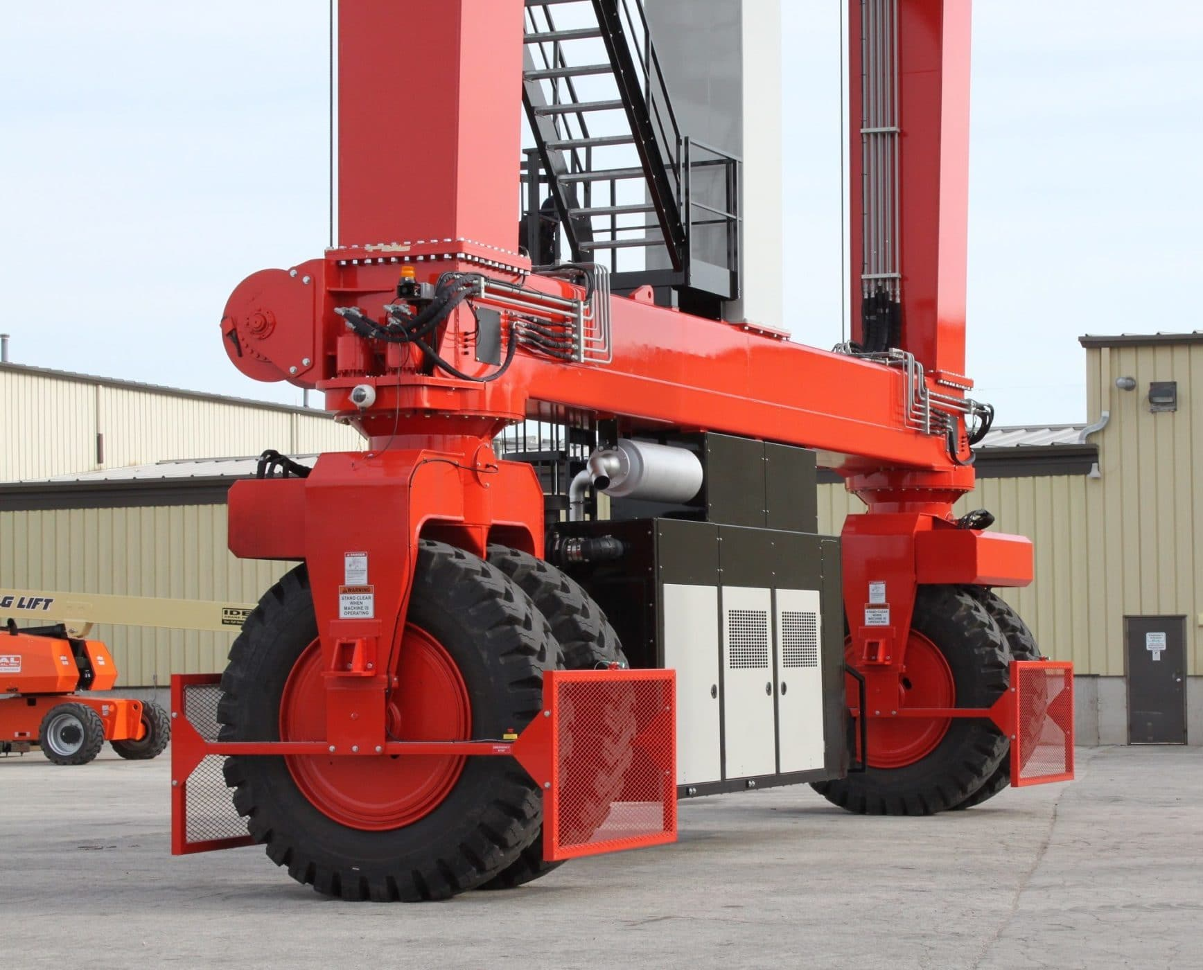 Double Beam Rubber Tire Gantry Cranes Db Series