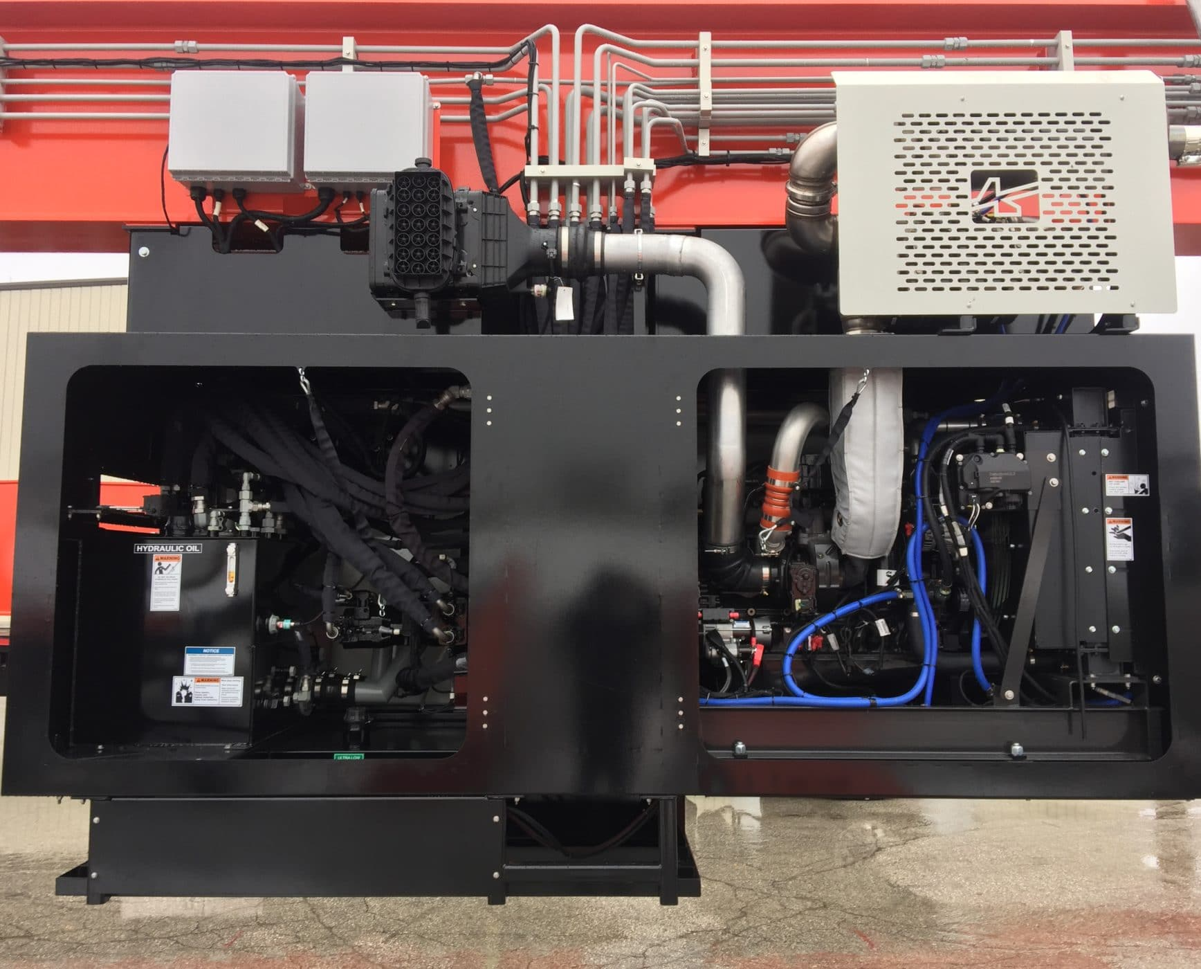Mobile Gantry Crane for Lifting Engine