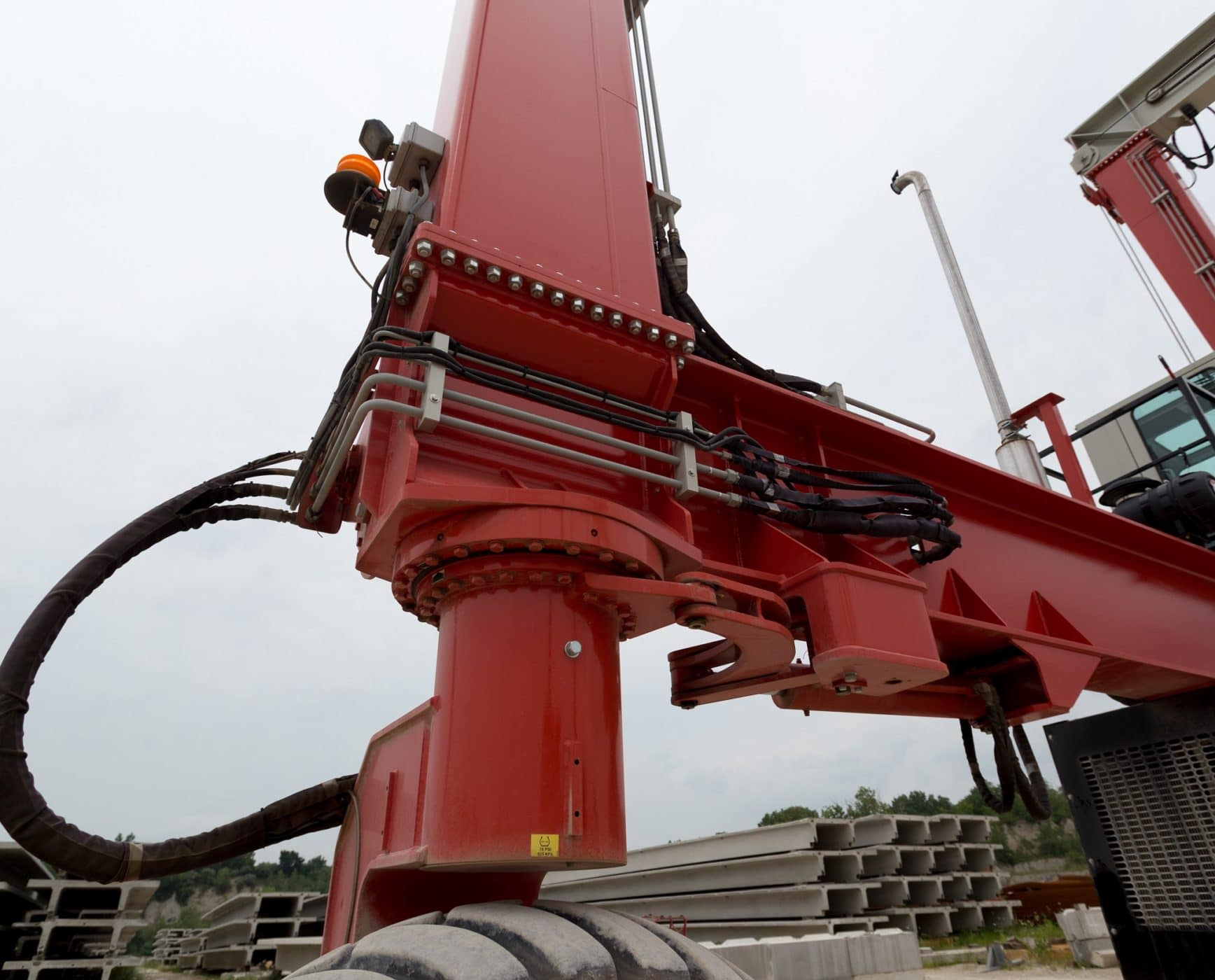 Mobile Crane with Slew Bearing