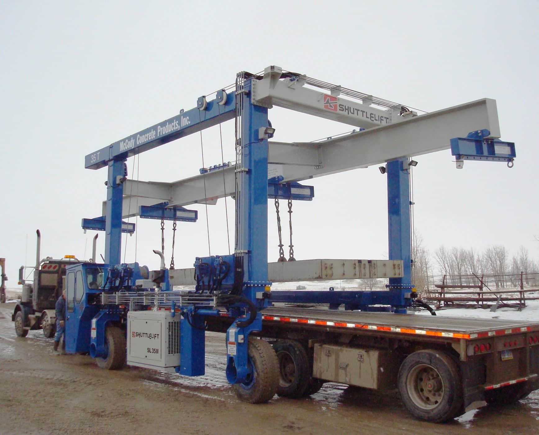 Custom Shuttlelift 35 Ton Lifting Crane