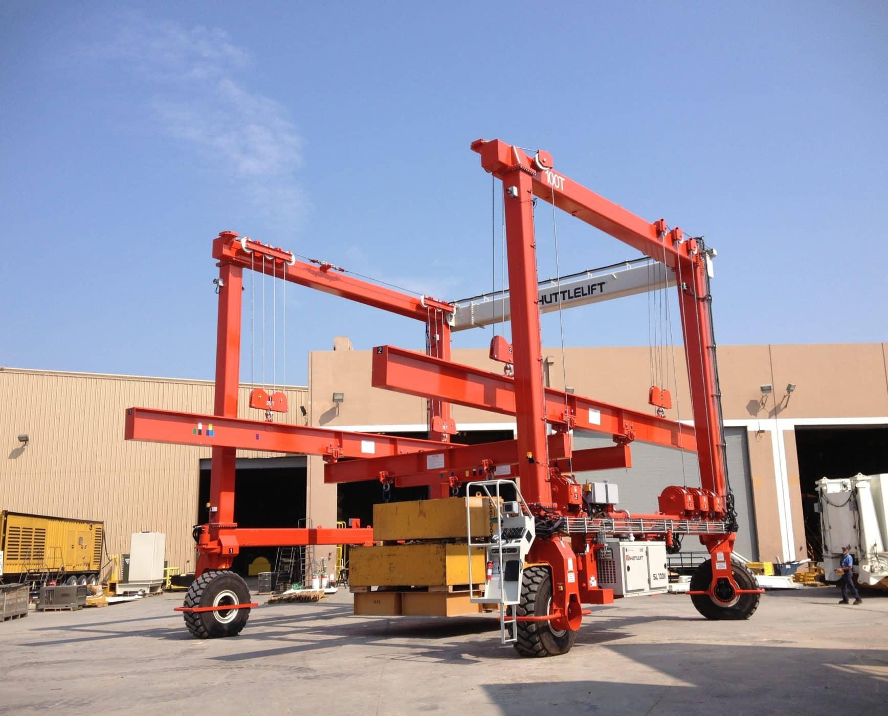 Material Handling Custom Crane with Spreader Bars