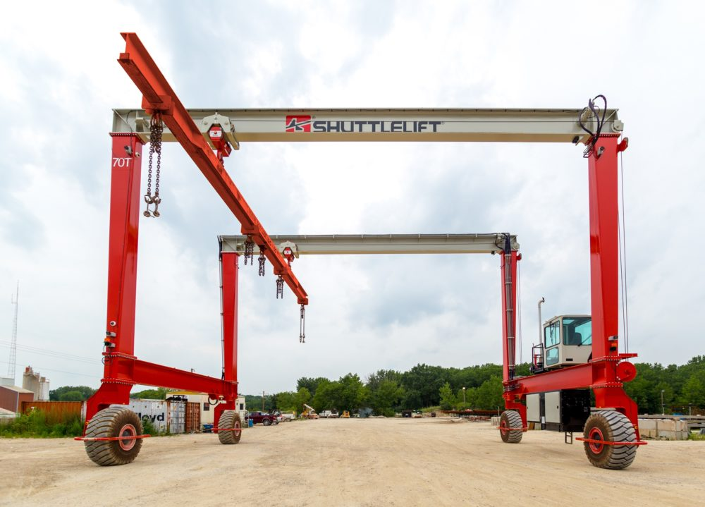 Rubber Tired Gantry Cranes and Mobile Gantry Cranes by