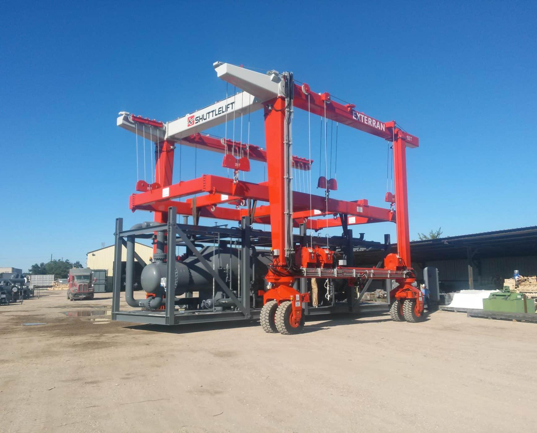 Shuttlelift SL straddle lift gantry crane