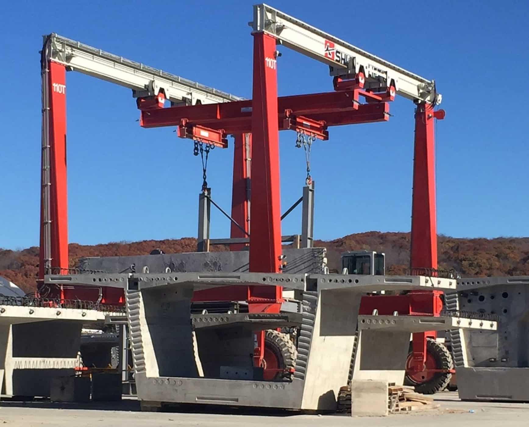 Custom Lifting Solution with DB Crane