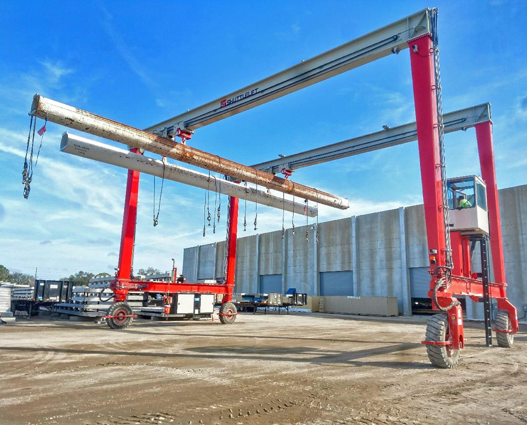 Shuttlelift DB double beam rtg crane