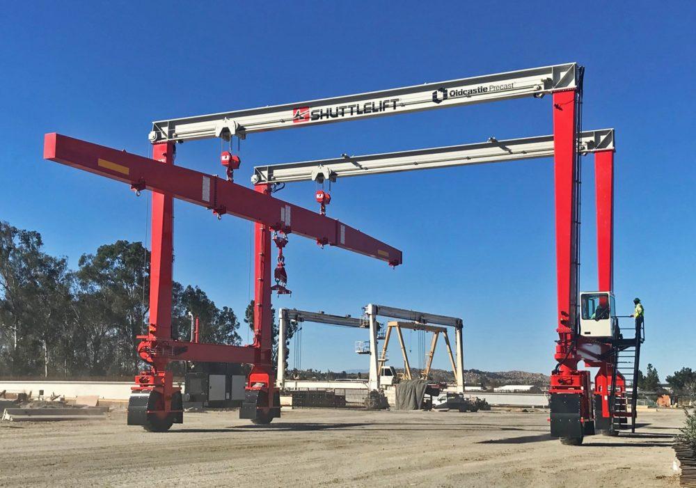 Oldcastle Shuttlelift Precast Mobile Gantry Crane
