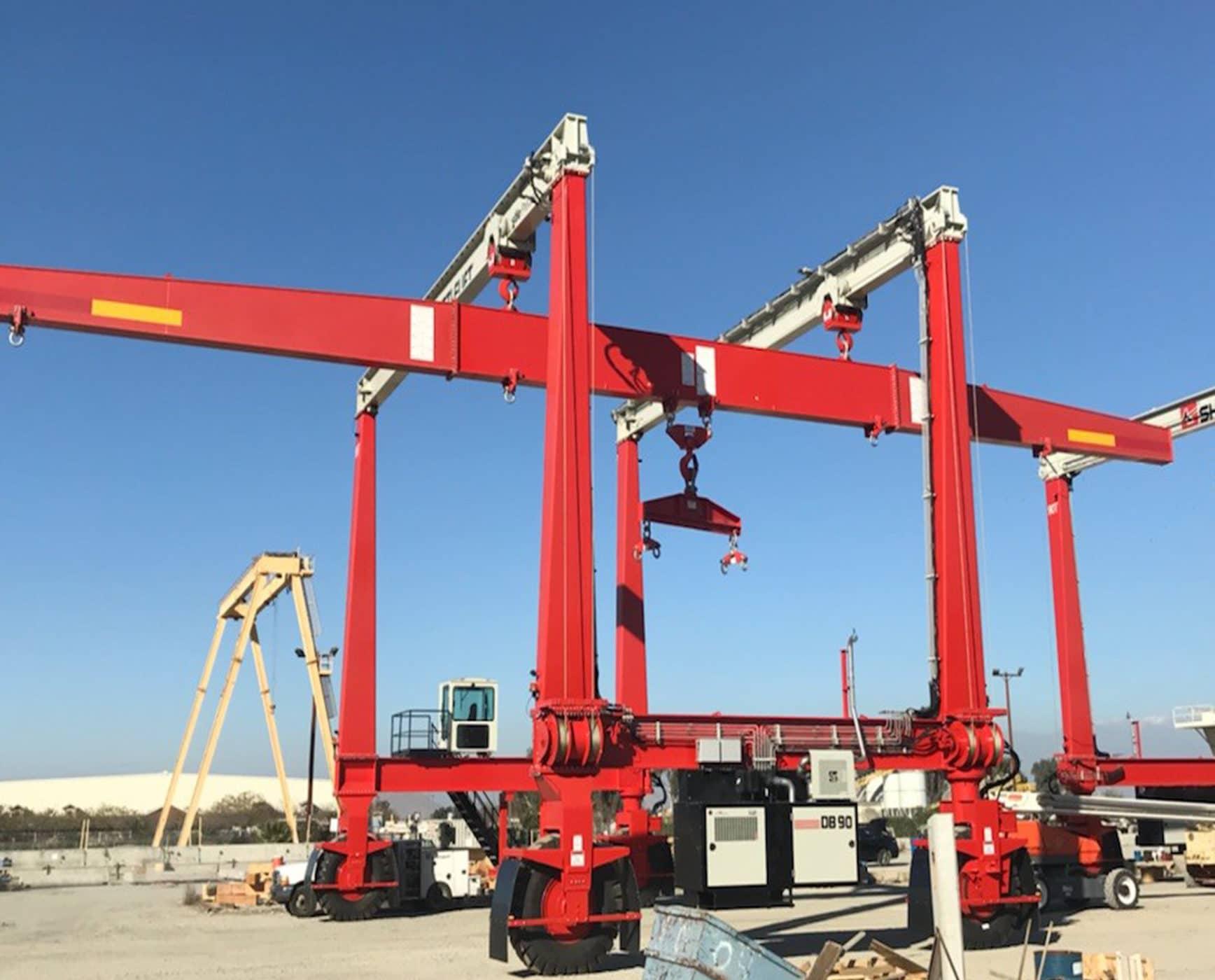 Mobile Gantry Crane Spreader for Lifting
