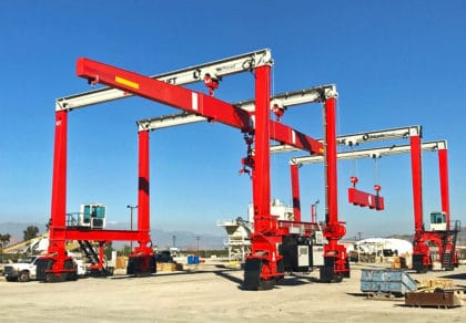 Double DB Cranes Efficient Material Handling