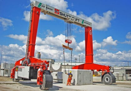 Gantry Crane Lifting Solution for Concrete