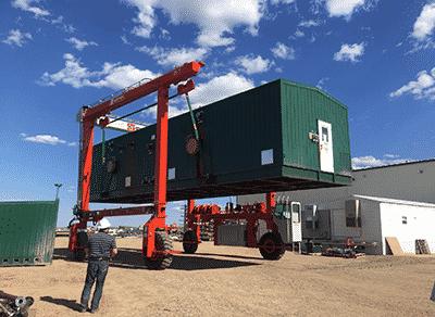 mobile gantry crane material handling