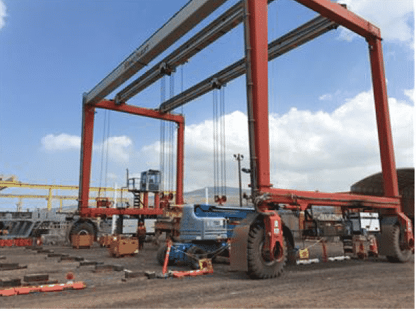 Used mobile gantry crane now for sale