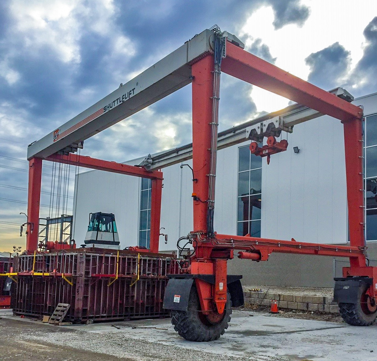 Mobile Gantry Crane in Canada