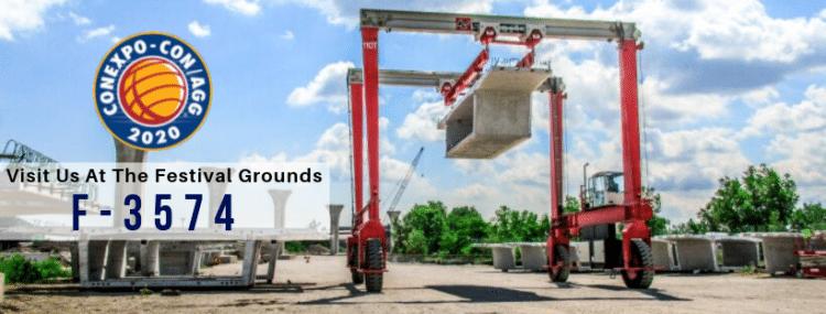 Double Beam Concrete Crane