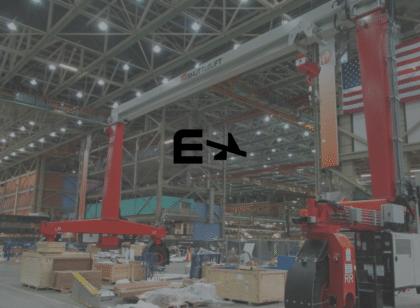 zero emissions large gantry crane