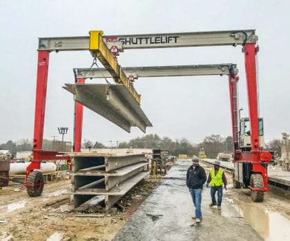Gantry Crane for Precast Lifting Concrete